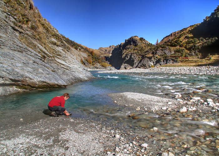 Gold Panning Canyon Queenstown