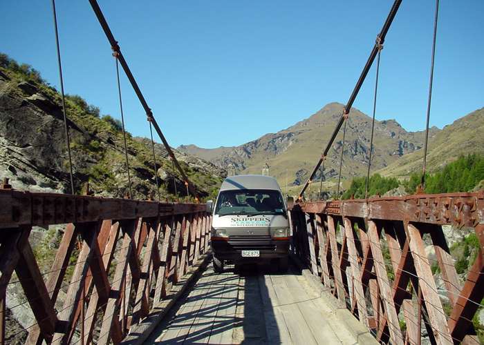 Skippers Canyon Bridge